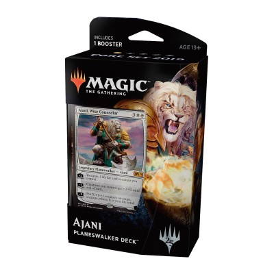Decks Préconstruits Magic the Gathering Core Set 2019 - Planeswalker Deck - Ajani, Wise Counselor