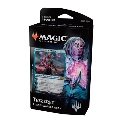 Decks Préconstruits Magic the Gathering Core Set 2019 - Planeswalker Deck - Tezzeret, Cruel Machinist
