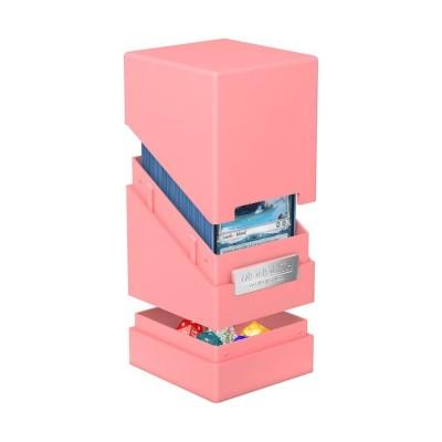 Boites de Rangements Accessoires Pour Cartes Monolith Deck Case 100+ - Rose
