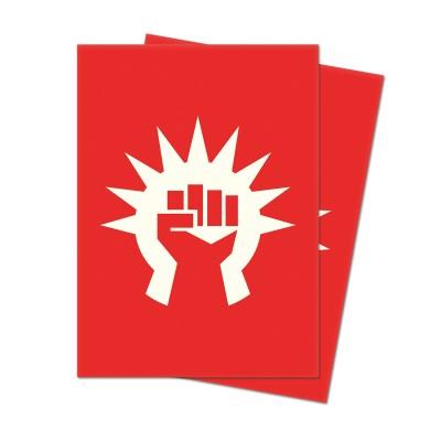Protèges Cartes illustrées Accessoires Pour Cartes Les Guildes de Ravnica - 100 Pochettes - Légion de Boros