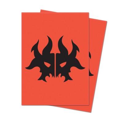 Protèges Cartes illustrées Accessoires Pour Cartes Les Guildes de Ravnica - 100 Pochettes - Culte de Rakdos