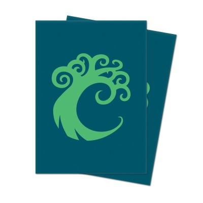 Protèges Cartes illustrées Accessoires Pour Cartes Les Guildes de Ravnica - 100 Pochettes - Cartel de Simic