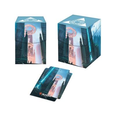 Boites de rangement illustrées Accessoires Pour Cartes Les Guildes de Ravnica - Deck Box 100+ - Sénat d'Azorius