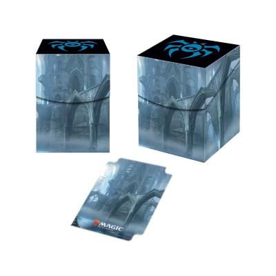 Boites de rangement illustrées Accessoires Pour Cartes Les Guildes de Ravnica - Deck Box 100+ - Maison Dimir
