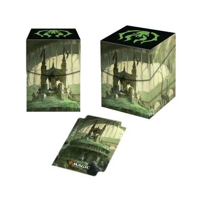 Boites de rangement illustrées Accessoires Pour Cartes Les Guildes de Ravnica - Deck Box 100+ - Essaim Golgari