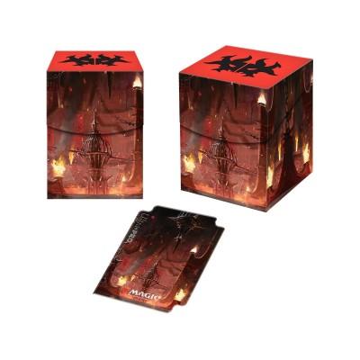 Boites de rangement illustrées Accessoires Pour Cartes Les Guildes de Ravnica - Deck Box 100+ - Culte de Rakdos