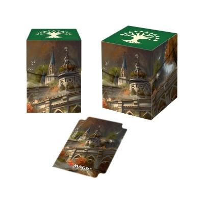 Boites de rangement illustrées Accessoires Pour Cartes Les Guildes de Ravnica - Deck Box 100+ - Conclave de Selesnya