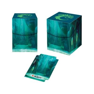 Boites de rangement illustrées Accessoires Pour Cartes Les Guildes de Ravnica - Deck Box 100+ - Cartel de Simic