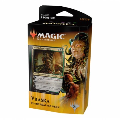 Decks Magic the Gathering Guilds of Ravnica - Planeswalker - Vraska, Regal Gorgon