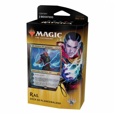 Decks Magic the Gathering Les Guildes de Ravnica - Planeswalker - Ral, Meneur des Tempêtes