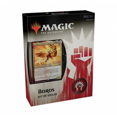 Coffrets Magic the Gathering Les Guildes de Ravnica - Kits de Guilde - Boros