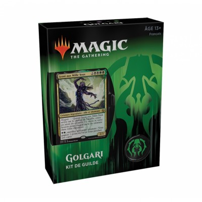 Coffrets Magic the Gathering Les Guildes de Ravnica - Kits de Guilde - Golgari