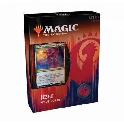 Coffrets Magic the Gathering Les Guildes de Ravnica - Kits de Guilde - Izzet