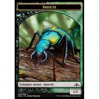 Tokens Magic Jeton - Les Guildes de Ravnica - (05/08) Insecte