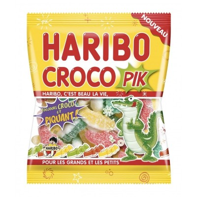 Confiseries  Bonbon - Croco Pik - Haribo