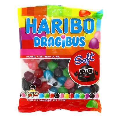 Confiseries  Bonbon - Dragibus Soft - Haribo