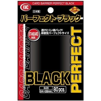 Protèges Cartes 80 Pochettes - Perfect Black