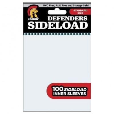 Protèges Cartes  100 pochettes - Sideload Defenders - Clear