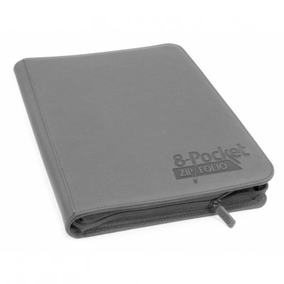 Classeurs et Portfolios  Zipfolio 8 Cases - Xenoskin - Gris