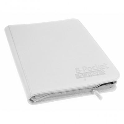 Classeurs et Portfolios  Zipfolio 8 Cases - Xenoskin - Blanc