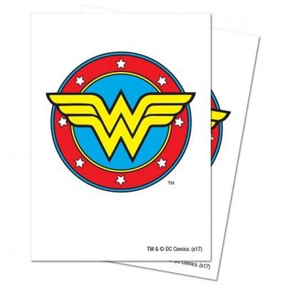 Protèges Cartes illustrées  65 Pochettes - Wonder Woman
