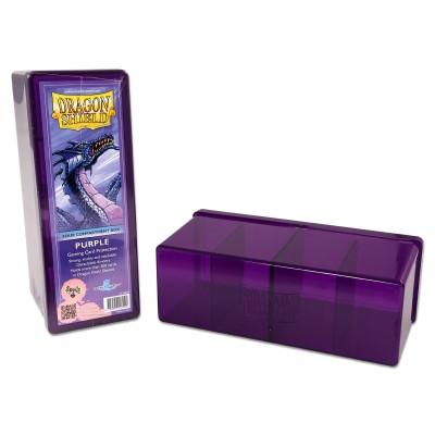 Boites de Rangements 4 Compartiments - Purple