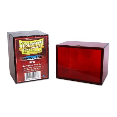 Boite de Rangement Gaming Box - Rouge