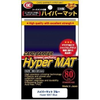 Protèges Cartes  80 pochettes - Hyper Series - Hyper Mat Blue