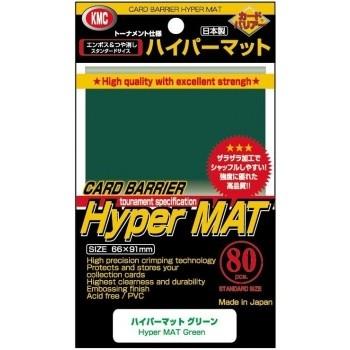 Protèges Cartes  80 pochettes - Hyper Series - Hyper Mat Green