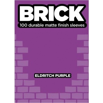 Protèges Cartes  100 pochettes - Brick Sleeves - Eldritch Purple