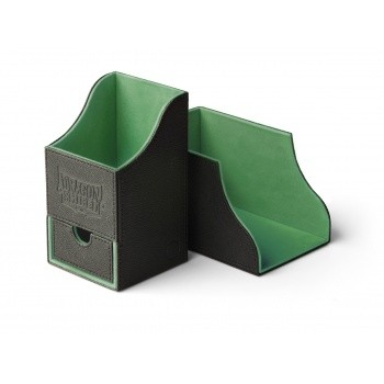Boites de Rangements  Nest 100+ Deck Box Dice Tray - Black Green