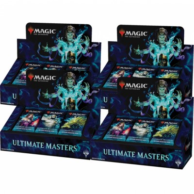 Boites de Boosters Magic the Gathering Ultimate Masters - Boite De 24 Boosters - Lot de 4