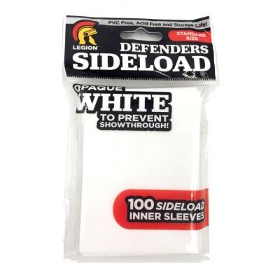 Protèges Cartes  100 pochettes - Sideload Defenders - White
