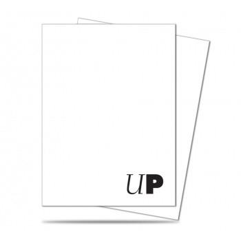 Protèges Cartes illustrées 50 pochettes - Deck Protector - Pro-Team White