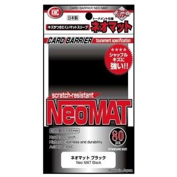 Protèges Cartes  80 pochettes - Neo Mat - Black