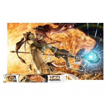 Tapis de Jeu  Playmat - Song of Flame & Fury