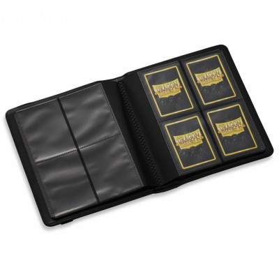 Classeurs et Portfolios Card Codex - Binder 160 - 8 Cases - Black