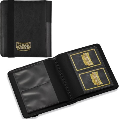 Classeurs et Portfolios Card Codex - Binder 80 - 4 Cases - Black