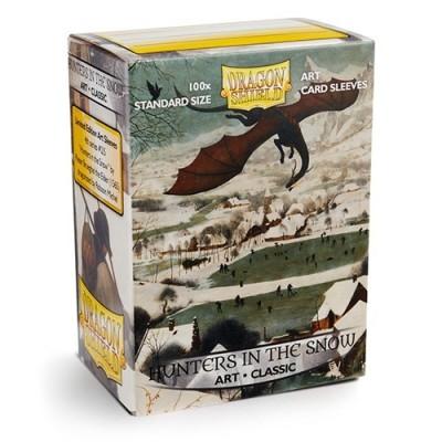 Protèges Cartes illustrées 100 pochettes - Hunters in the Snow