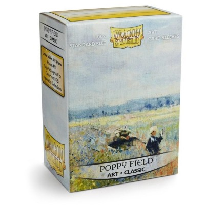 Protèges Cartes illustrées 100 pochettes - Poppy Field