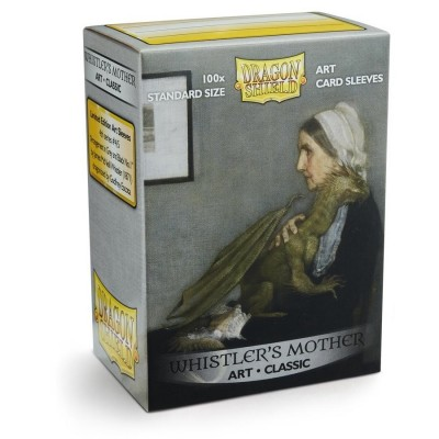 Protèges Cartes illustrées  100 pochettes - Whistler's Mother
