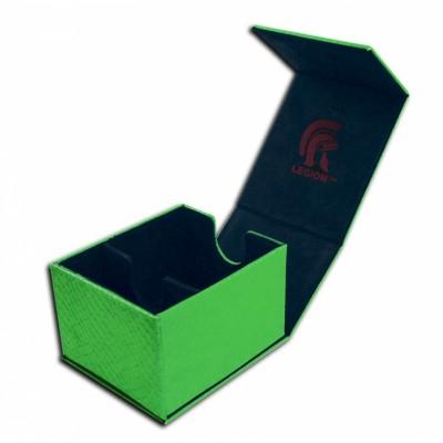 Boites de Rangements  Deck Box - Dragon Hide - Hoard Plus - Green