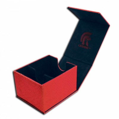 Boites de Rangements  Deck Box - Dragon Hide - Hoard Plus - Red