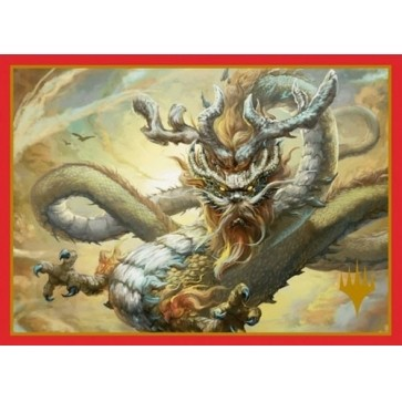 Protèges Cartes illustrées Magic the Gathering 100 Pochettes - Ancestral Dragon