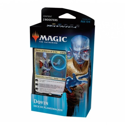 Decks Magic the Gathering L'Allégeance de Ravnica - Planeswalker - Dovin, architecte de la loi