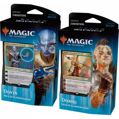 Decks Magic the Gathering L'Allégeance de Ravnica - Deck de Planeswalker - Lot de 2