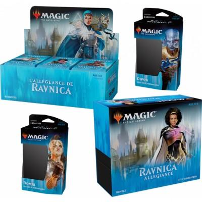 Offres Spéciales Magic the Gathering L'Allégeance de Ravnica - Mega Pack : Boite VF + 2 Decks VF + Bundle VO