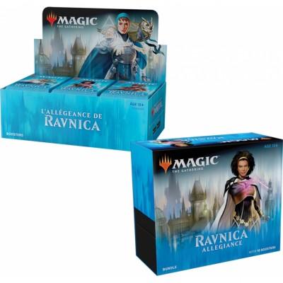 Offres Spéciales Magic the Gathering L'Allégeance de Ravnica - Small Pack : Boite VF + Bundle VO