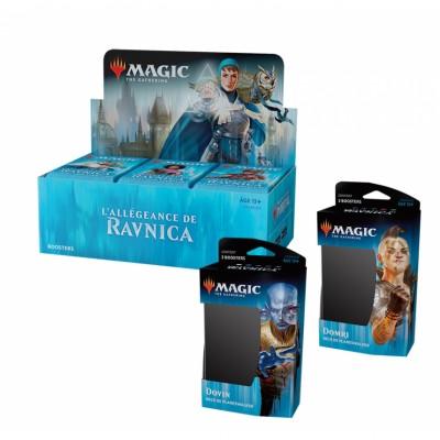 Offres Spéciales Magic the Gathering L'Allégeance de Ravnica - Super Pack : Boite VF + 2 Decks VF