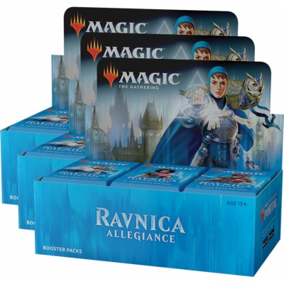 Boites de Boosters Magic the Gathering Ravnica Allegiance - Lot de 3